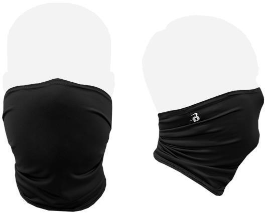 Image For BLACK FACE COVERING (WASHABLE, SMALL)